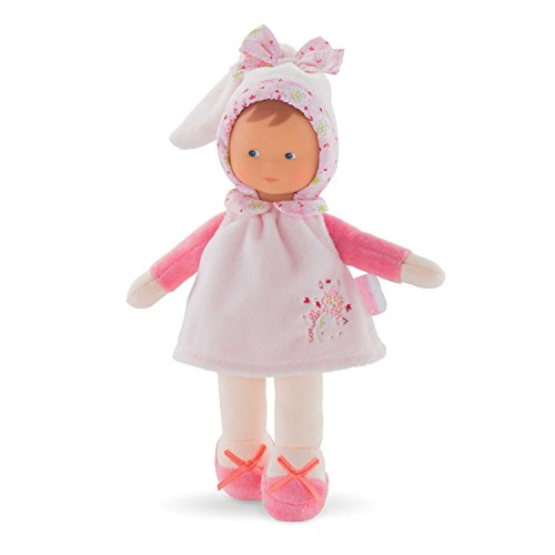 Corolle Miss Pink Cotton Flower Toy Baby Doll, Multicolor