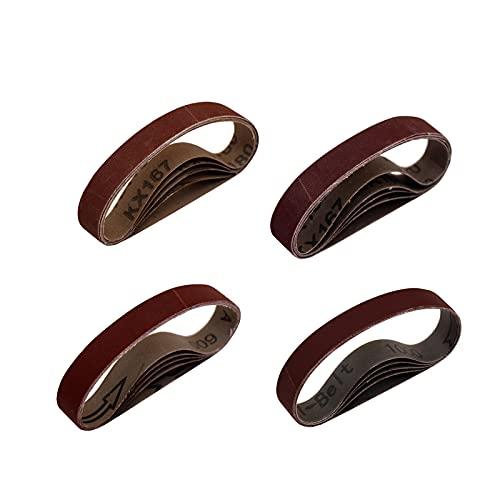 LIHUACHEN Affilacoltelli elettrico ¾ x 30,5 cm flessibile nastro abrasivo coltello e affilacoltelli kit di ricambio