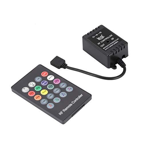Monllack 20 llaves LED controlador de música Rf remoto LED...