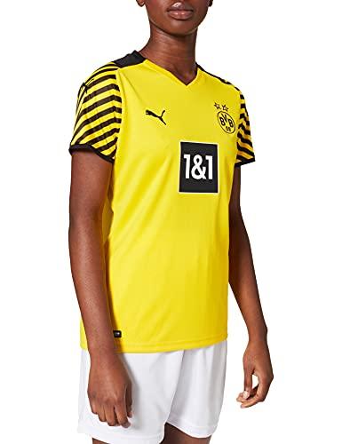 Puma Mann Borussia Dortmund Saison 2021/22 Spielausrüstung, GameKit Home Game-Kit, Cyber Yellow Black, 152