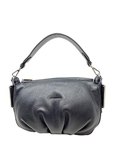 Cromia Handtasche Umhängetasche Art1404800 schwarz Leder