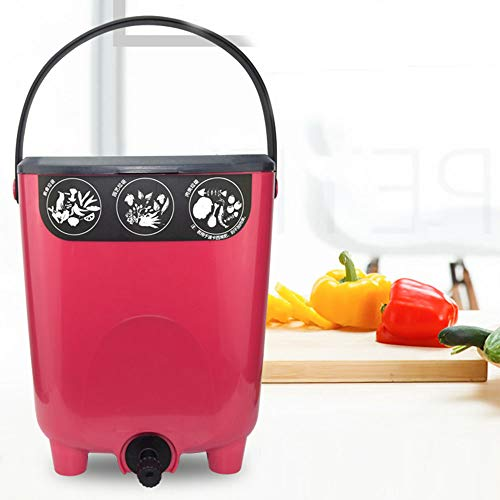 Learn More About Compost Bin Kitchen, Garden Composter Made from Recycled Plastic, Create Fertile Soil with Easy Assembly, Lightweight, Aerating Outdoor Box