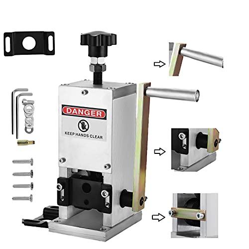 VEVOR Machine à Dénuder manuelle SD-25, Pince à dénuder manuelle 1.5-25mm, pour recycler les fils de cuivre/enlever l'isolant en plastique et en caoutchouc des fils de ferraille intacts