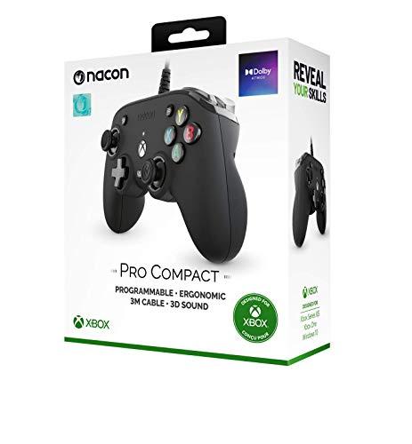 Sconosciuto NACON Wired UFFICIAL PRO Compact Controller Atmos Nero