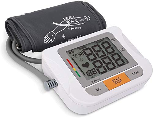 ZOUJUN Digital Wrist Blood Pressure, Monitors Memory Clinically Accurate & Adjustable BP Wrist Cuff with Carrying Case and Large LCD (Best Gifts)