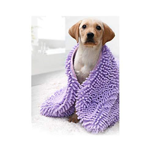 Schnelltrocknender Bademantel Hund, Multifunktionales schnell trocknendes...