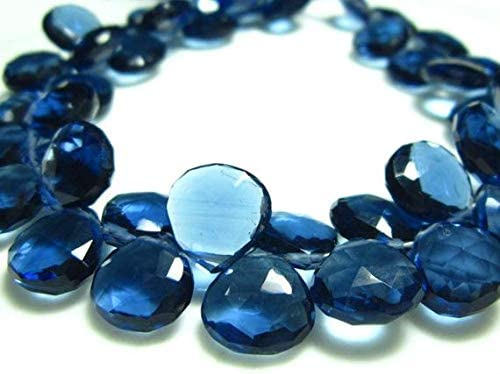 GemAbyss Limited New popularity price Beads Gemstone 1 2 Strand- Quartz Fa Blue Glass Kyanite