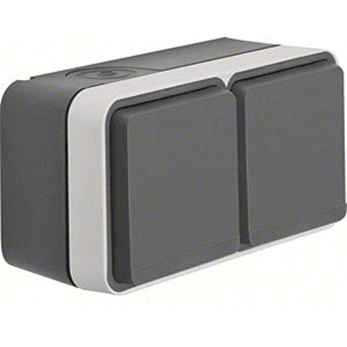 BERKER BERK AP-stopcontact SCHUKO 47843515 2-voudige weegschaal