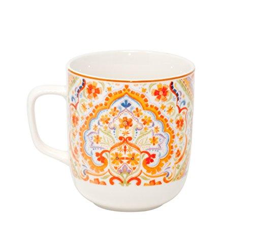 Mug de Caf? Grande tasse ? caf? Porcelaine   Espania   Tasse ? th? Coffret TASSE Gobelet Mug 380?ml de Duo dans coffret cadeau
