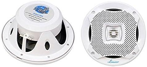 """6.5"""" Dual Waterproof Marine Speakers - 400W 4Ohm Outdoor Car/Boat Radio Stereo Speakers Waterproof/Weather Proof Marine St..."""