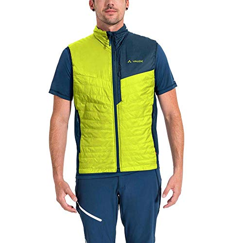 VAUDE Herren Freney Hybrid Weste III, Bright Green, XXL