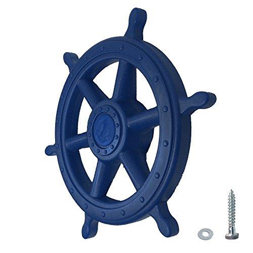 Timón para barco Azul