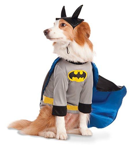 Disfraz Oficial de Rubie'S DC Batman para Perro, Perro Grande