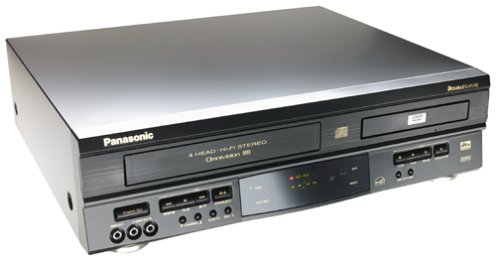 Review Panasonic PV-D4742 DVD-VCR Combo, Black