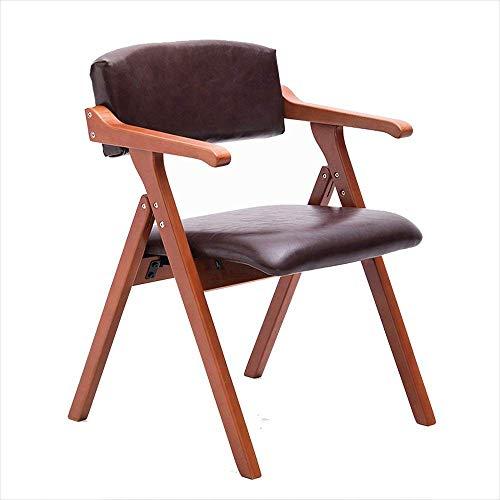 Silla de Bar Silla de Comedor Nordic Creative Apoyabrazos Silla Plegable Silla de Ocio Silla de Made