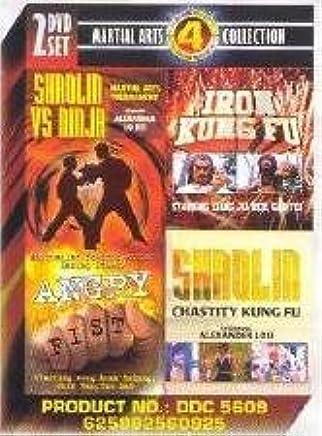 Martial Arts Collection: 4 Movies - Shaolin Vs Ninja, Angry ...