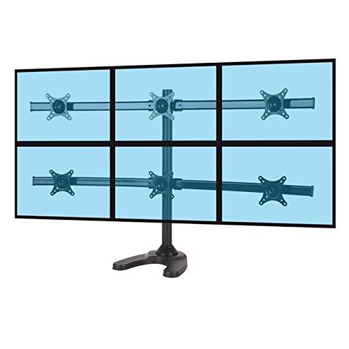 KIMEX 015-1258 Support de Bureau pour 6 écrans PC 13''-24\