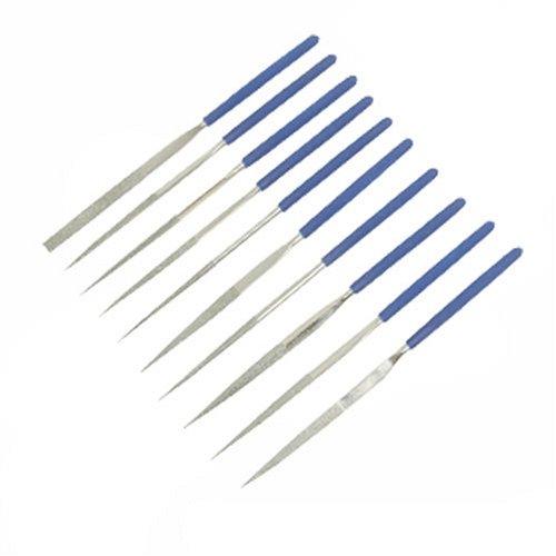 Preisvergleich Produktbild Silverline 633509 Diamant-Nadelfeilen, 10-tlg.