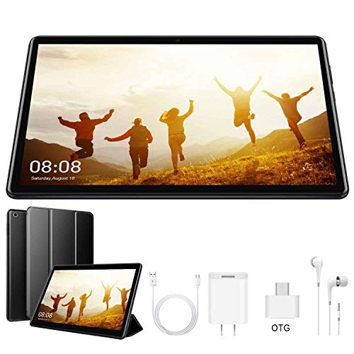 Tablet 10 Pulgadas Android 9 Pie Ultrar-Rápido Tablets 3GB RAM + 32GB ROM/128GB- Certificación Google GMS - Dual SIM - 8500mAh |WI-FI|Bluetooth|GPS| Type-C 4G Full HD Tablet