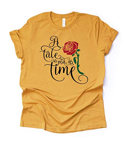 A Tale as Old as Time womens shirt Unisex Misses and Plus size tee Womans Top Ladies T-Shirt