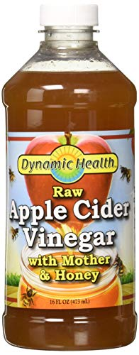 Dynamic Health Labs Apple Cider with Mother and Natural Honey Supplement, 16 Ounce