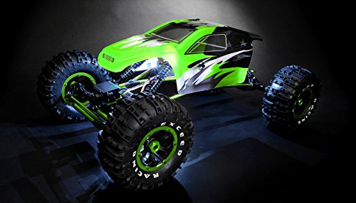 Exceed RC 1/8Th Mad Torque Rock Crawler Ready to Run (Green)