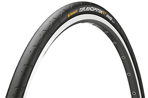 Continental Fahrradreifen Grand Prix GT 28-622 Faltreifen, Black/Black Skin Foldable, One size