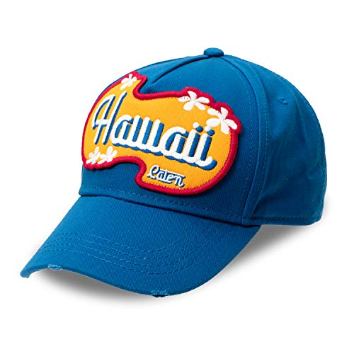 DSQUARED2 D2 Summer Original Baseball Cap Hawaii Blau