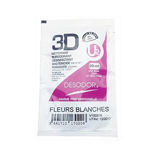 3D Fleurs Blanches Dose 20 ML A l'UNITE