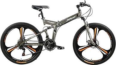 Fitness Minutes Folding Bike, Grey, FM-F26-04M-GR