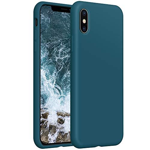 YATWIN kompatibel mit Handyhülle iPhone XS MAX Hülle Silikon, Ultra Dünn Flüssig Silikon Hülle iPhone XS MAX Hülle, Schutzhülle iPhone XS MAX Case 6.5