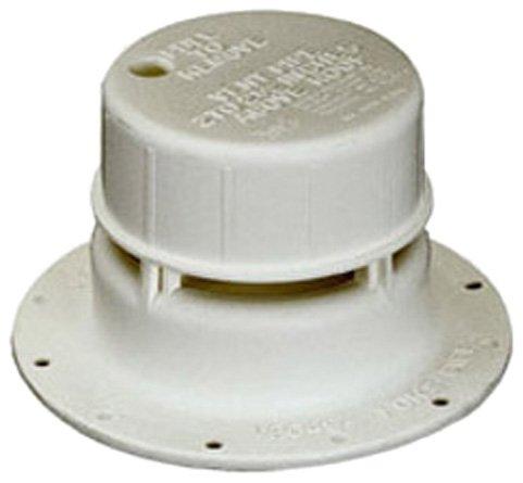 Ventline V2049-03 1-1 2  Plastic Plumbing Vent, Colonial White