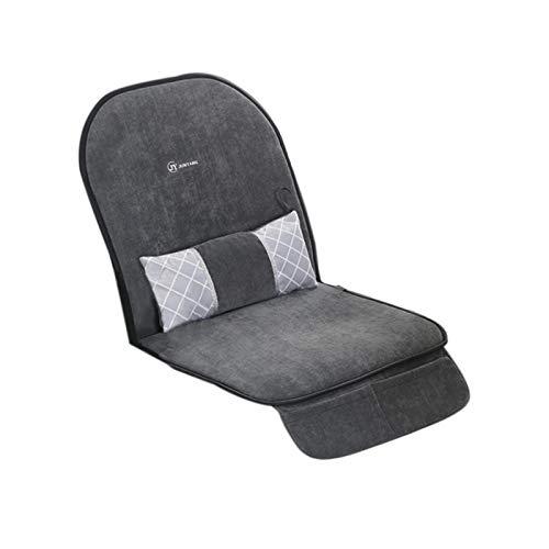 QIEZI Beheiztes Sitzkissen, beheizbare Aufwärmmatte mit Easy Controller, universelle Sitzbezüge Autositzwärmer für Truck Home Office Chair