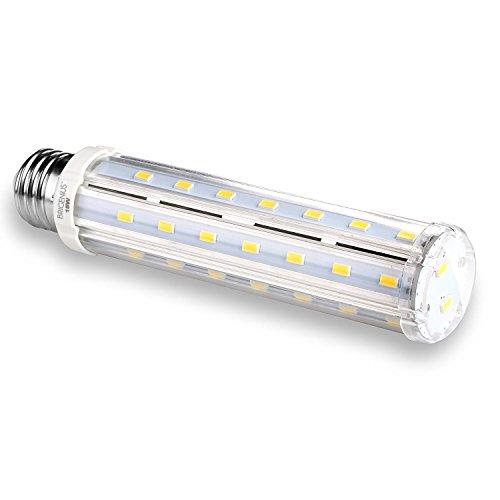 15W E27 LED Mais Birne Beleuchtung, Weiß 6000K Energiespar Leuchtmittel Maiskolben Ersatz 100W Glühlampe für Küche Schlafzimmer Hängendes Licht Badezimmer[Energieklasse A+]