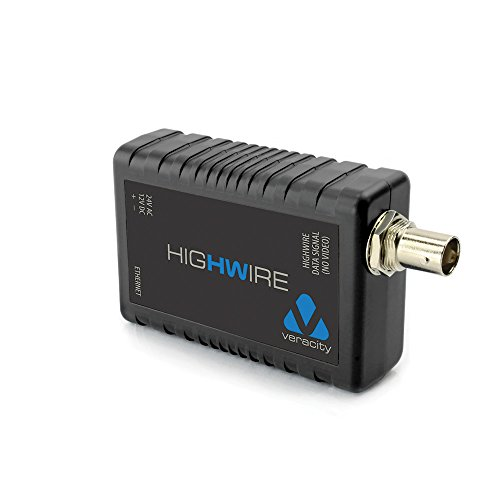 Veracity USA Highwire Ethernet Over Coax Converter Module VHWHW