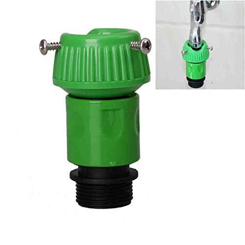 Handige Faucet snelle connector adapter voor thuis tuinen met zwart rubber ring ontwerp om lekkage te voorkomen
