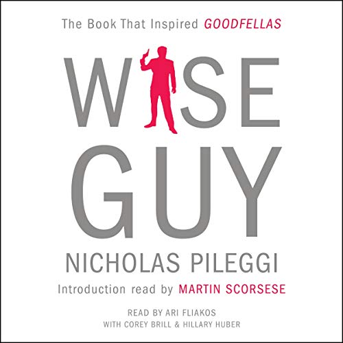 Wiseguy audiobook cover art