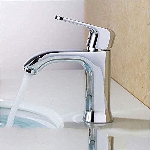 Grifos de cocina Mezclador de agua fría y caliente adjunto de latón individual Grifo de lavabo Grifo para baño