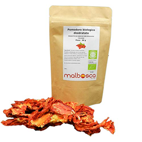 Pomodoro secco verdura disidratata italiana 100 % SENZA conservanti aggiunti SENZA sale SOLO verdura fresca disidratata 100% vegetale