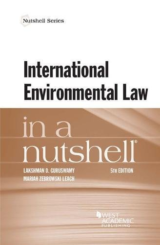 International Environmental Law in a Nutshell (Nutshells)