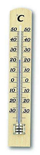 TFA 12.1003.05 - Termómetro de Interior Madera
