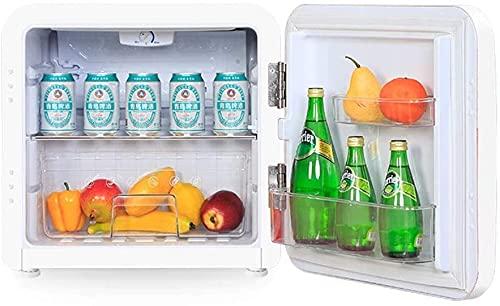 JCXT Portátil Mini Nevera Artículos para el hogar Refrigerado Individual Refrigerador Retro refrigerador Adaptado para Viajes...