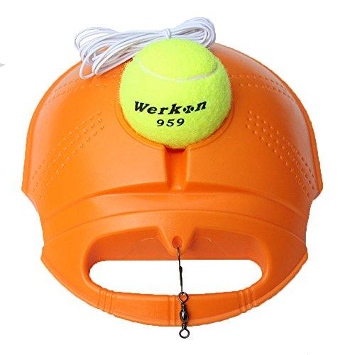 duojin Tennis Bal Singles Training Praktijk Ballen Terug Base Trainer Gereedschap Met Bal