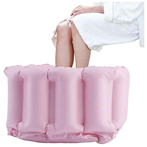 YuKeShop Cuenca de baño plegable inflable portátil para viajes, suave y cómodo, duradero y fácil de limpiar, para bebé, niño, adulto y adulto