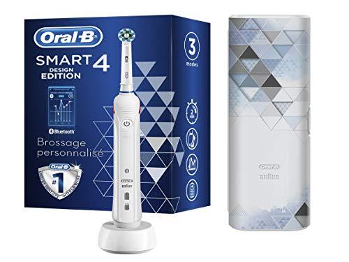 Oral-B Smart 4 – 4500 – Edición de diseño, cepillo de dientes...