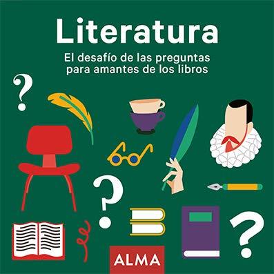 Literatura: El desafío de las preguntas para amantes de los libros: 25 (Cuadrados de diversión)