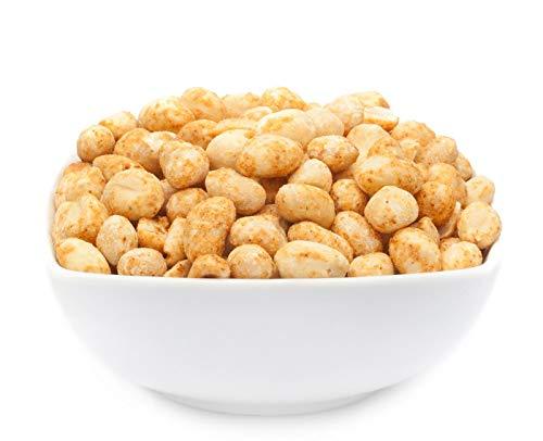 1 x 650g Erdnüsse trocken ohne Öl geröstet gesalzen vegan laktosefrei 24 % Protein aromatisch nussig intensiv im Geschmack