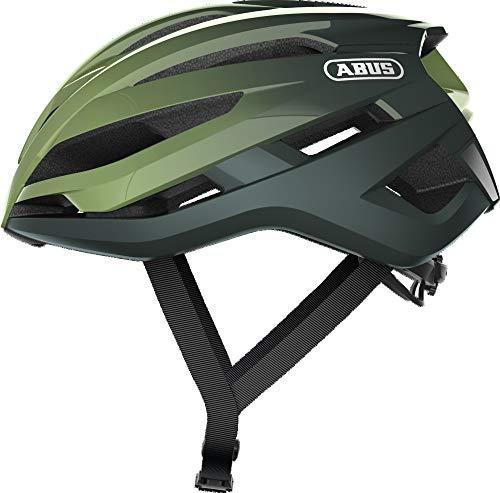 ABUS Unisex-Adult's STORMCHASER Helmet, Opal Green, L