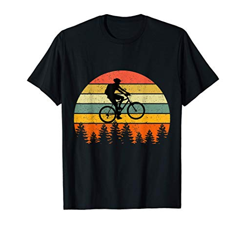 MTB Mountainbike DH Biker Dirt Retro Bike Downhill Jump T-Shirt