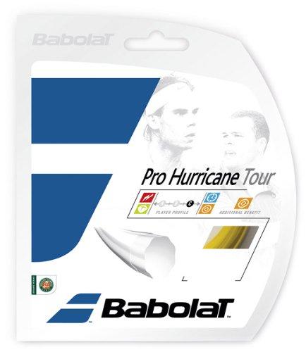 Babolat Pro Hurricane Tour 12M Cordaje de Tenis, Unisex Adulto, Amarillo, 125